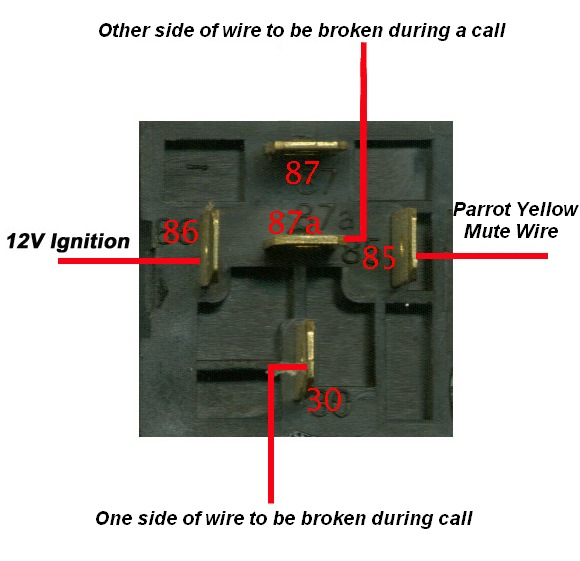 relay wiring example using a standard bosch automotive relay
